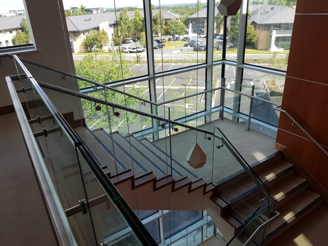 Citywest Glass Staircase